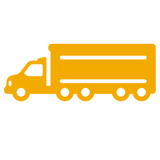 diesel delivery truck icon